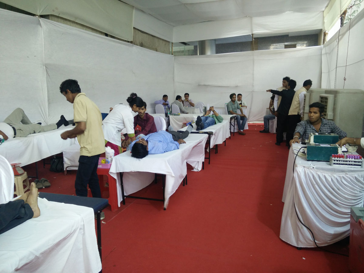 Save a Life effort - Blood Donation camp