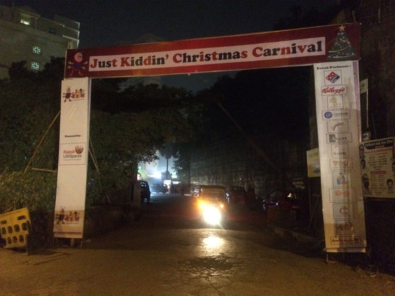 Just Kiddin International - Pre School, Christmas Carnival