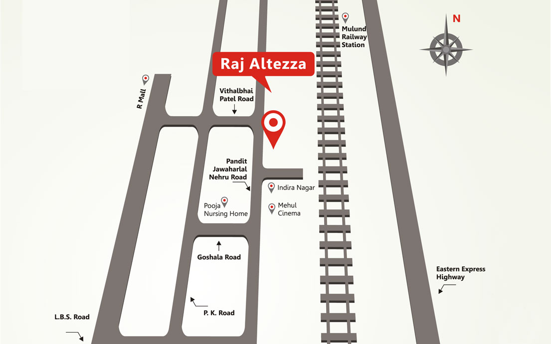 Raj Altezza Location Map